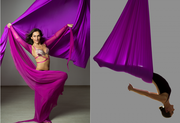 Belllydance & aerial Yoga